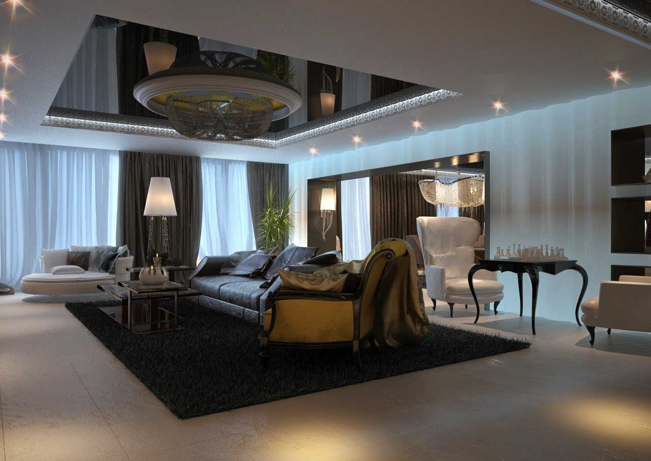 Modern classic interior design on vine for Designa interiors