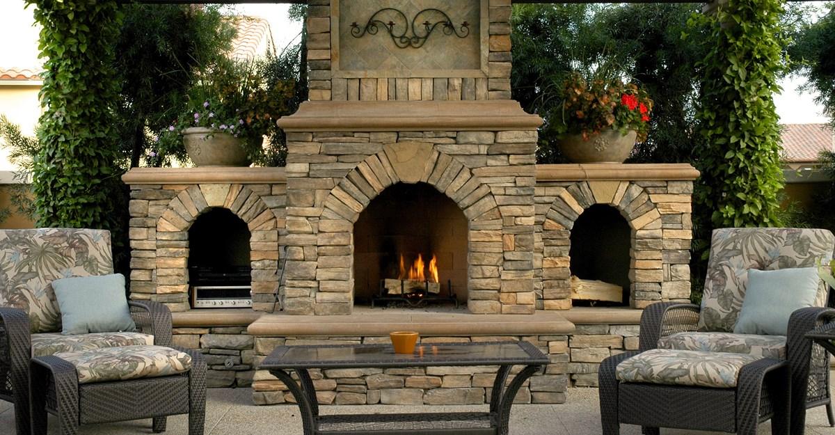 Outdoor Fireplace Design ideas - Design On Vine