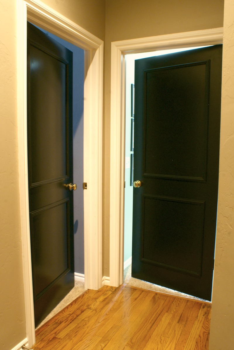 Painting Interior Door