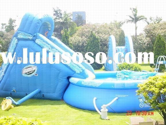 above-ground-swimming-pool-slides-znrD - Design On Vine