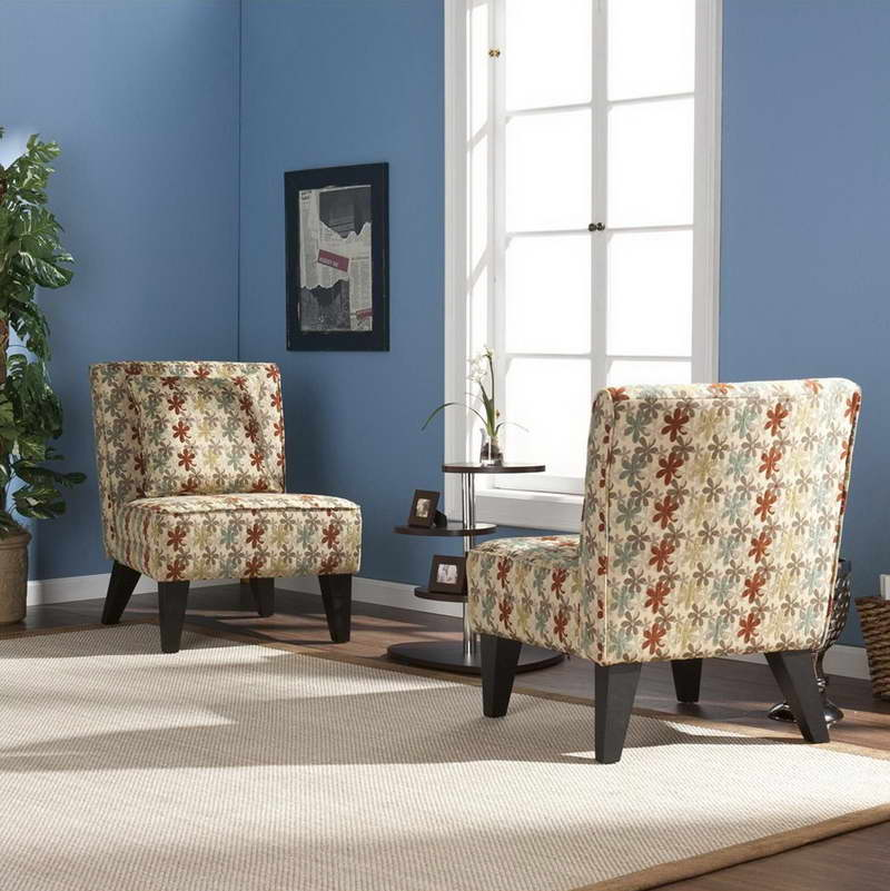 Accent chairs in living room for Living room with accent chairs