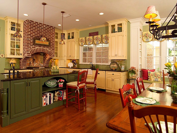 country-kitchen-decor-ideas-hcPx - Design On Vine
