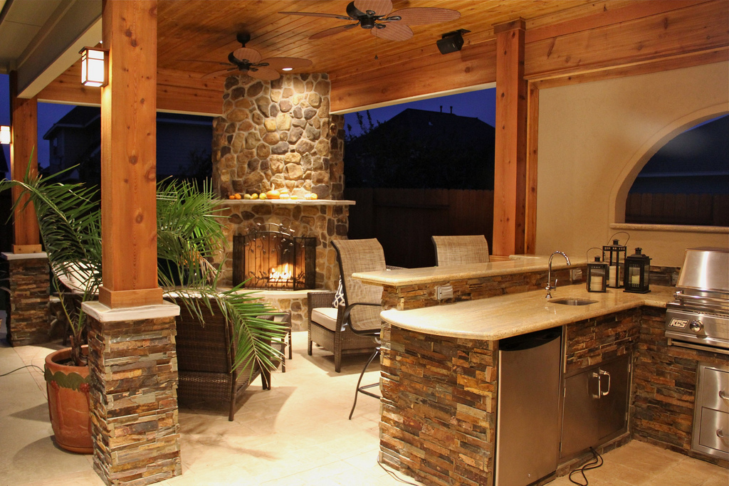 countryoutdoorkitchenideashUPS Design On Vine