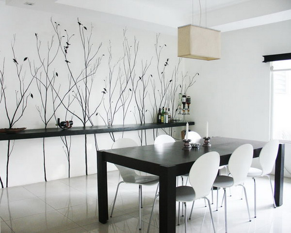 decorating-a-dining-room-wall-ijFg - Design On Vine