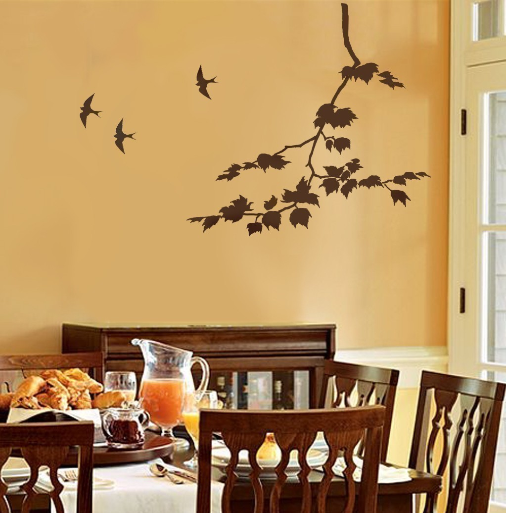 Stencil Decorating Walls - Wall Decor Ideas
