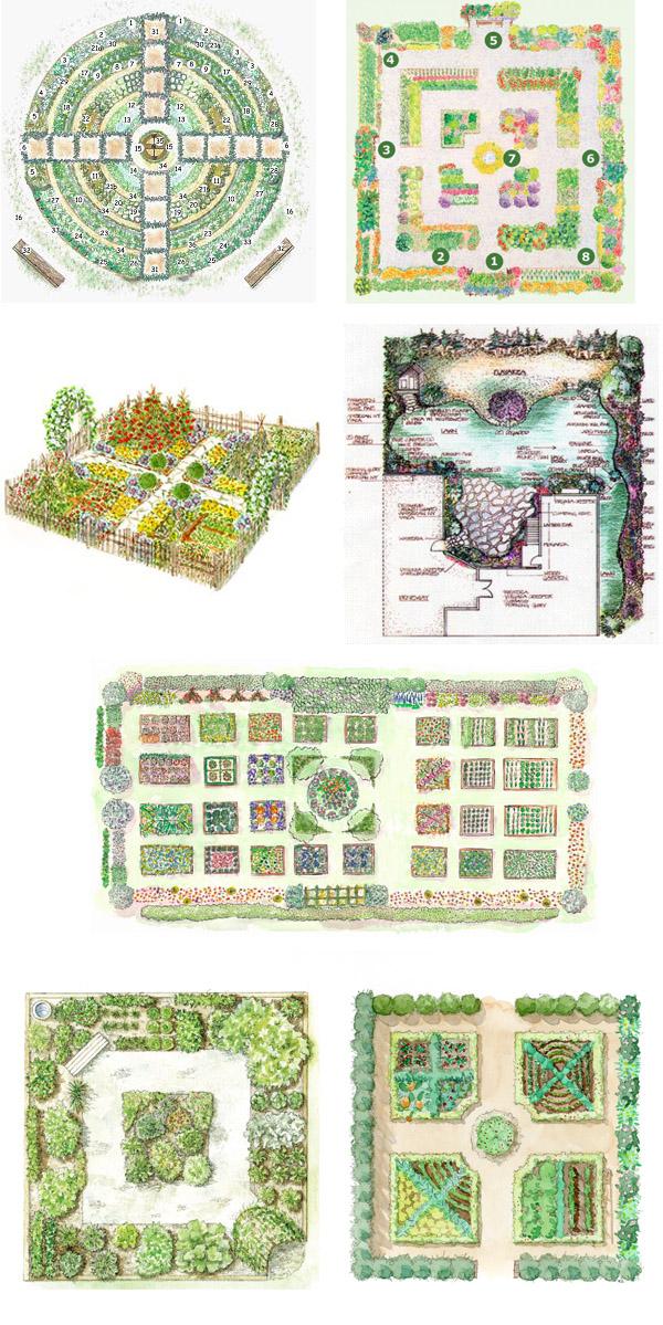 English Garden Design Plans VEbY