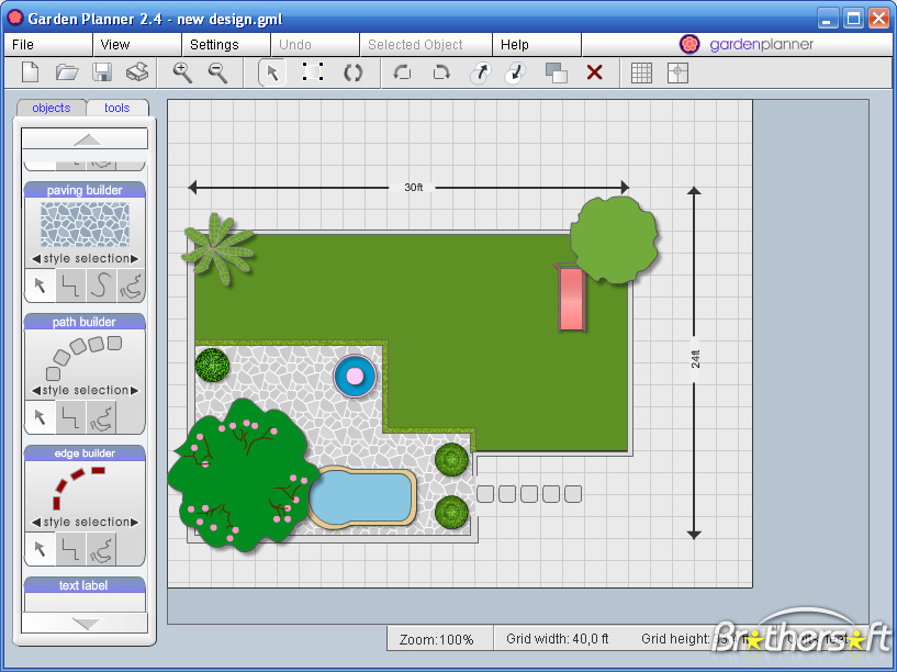 Garden Design Software XyzE