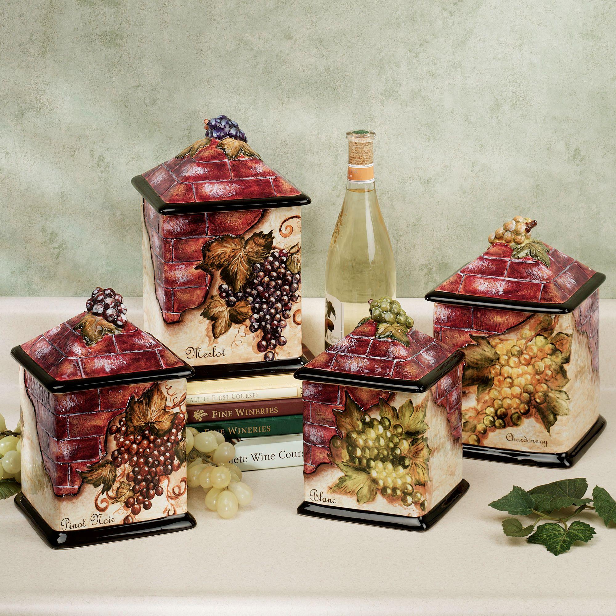 Grape And Wine Kitchen Decor GZgI
