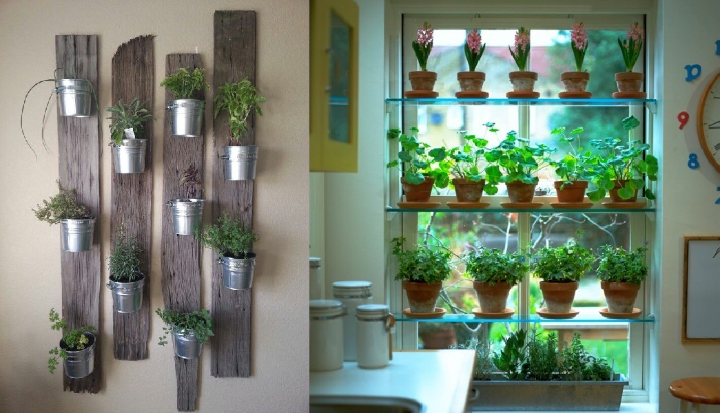 Elegant Indoor Herb Garden Design JwEu