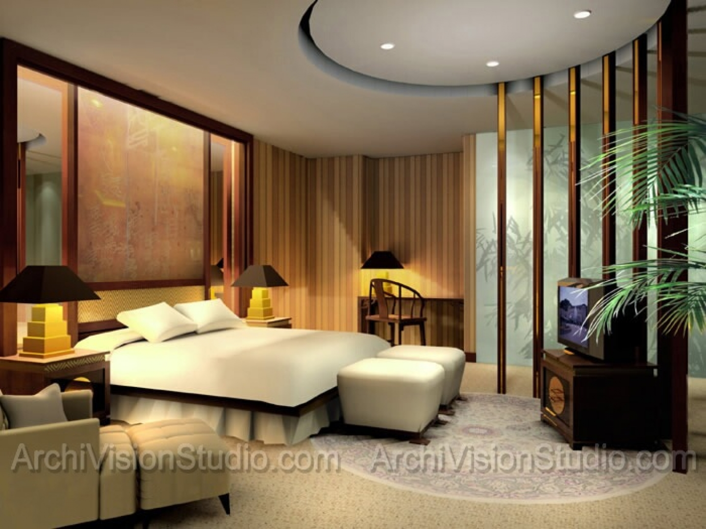 Master Bedroom Interior Liqc