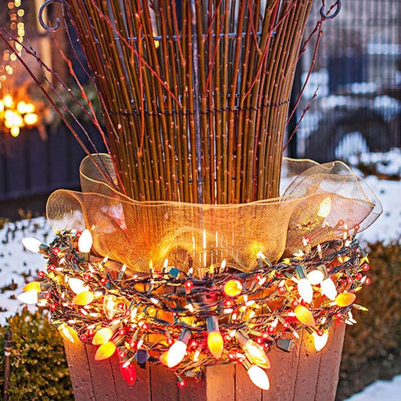 Outdoor christmas lights ideas uzba design on vine outdoor christmas lights ideas uzba aloadofball Gallery