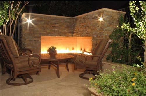 Outdoor Fireplaces Ideas Gdnt