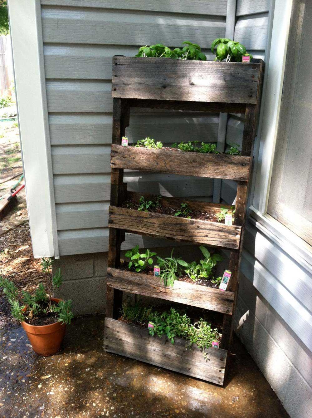 Outdoor Herb Garden Design OASp