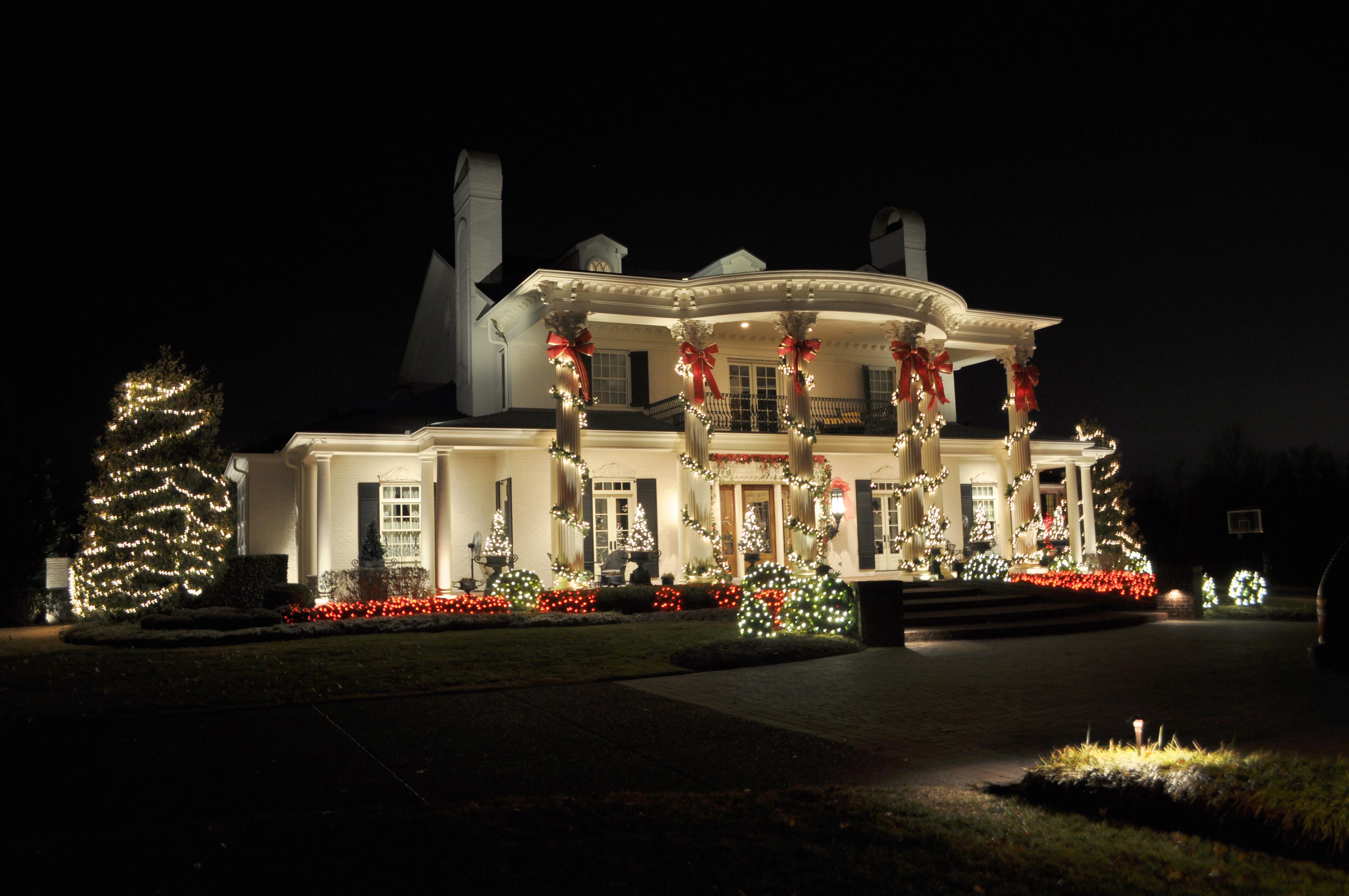 xmas lighting ideas. Outdoor Holiday Lighting Ideas LUmo Xmas O