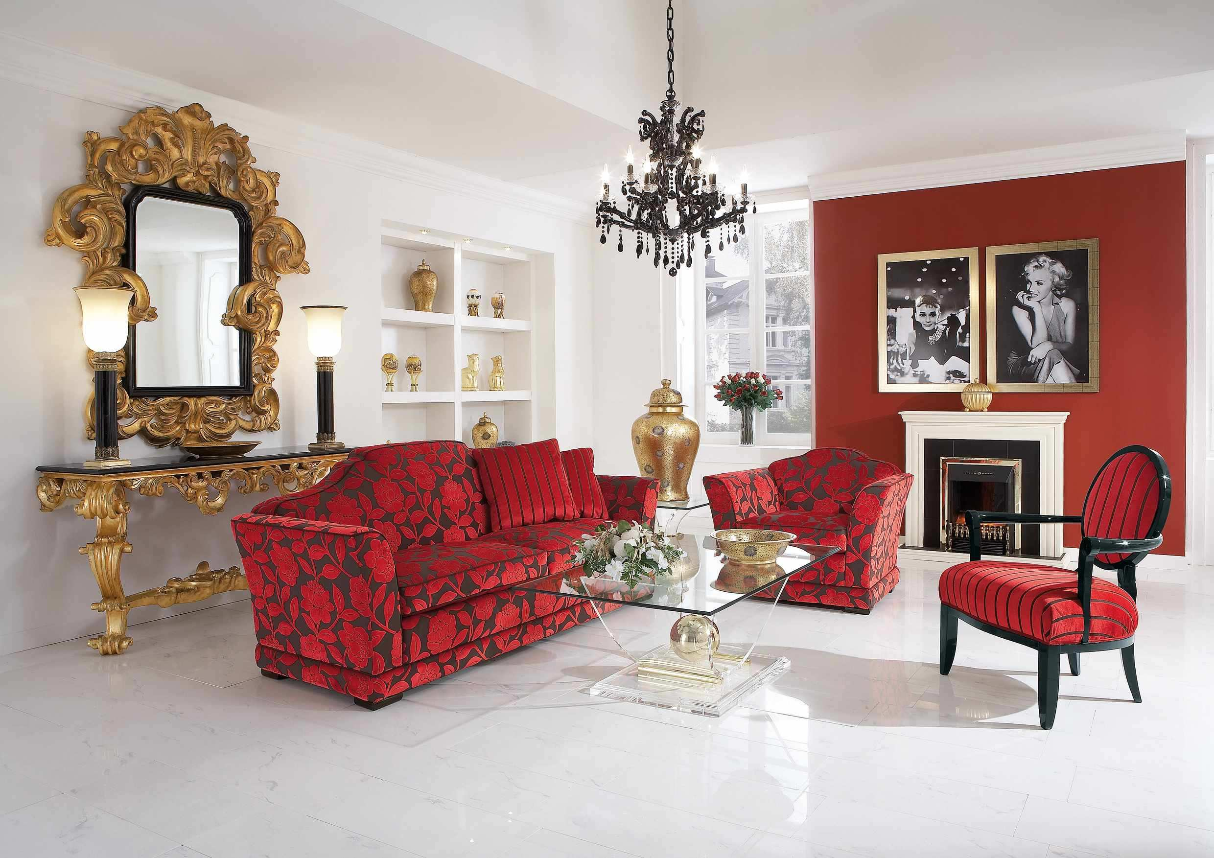 red-living-room-chairs-xfkv - design on vine