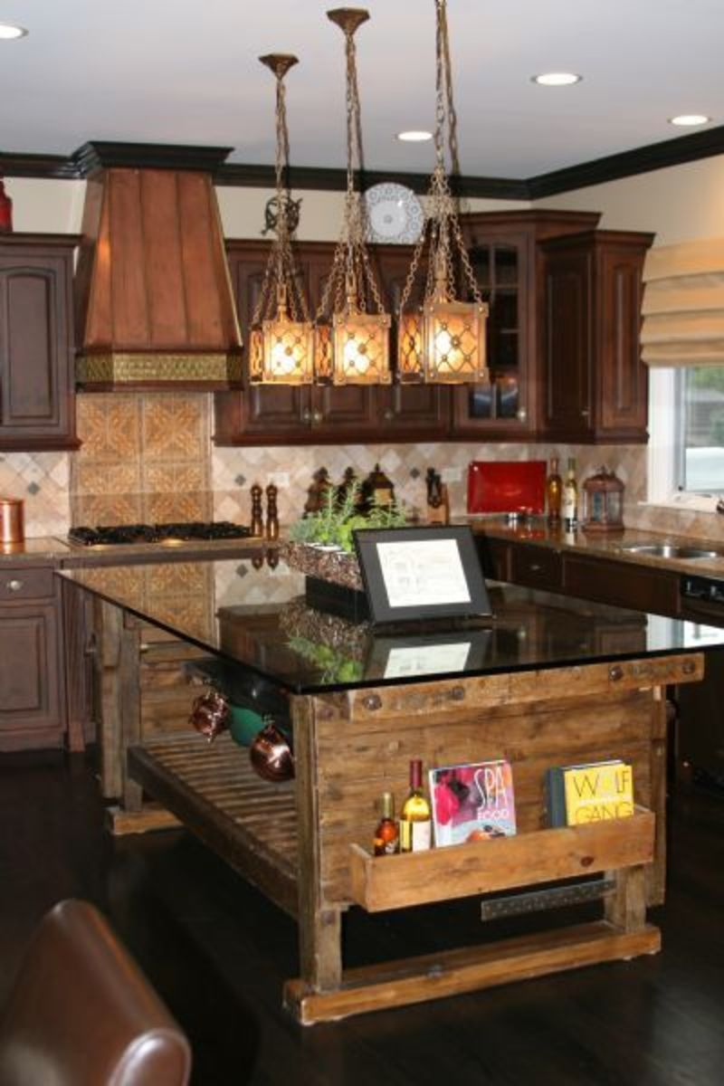 Rustic Country Kitchen Decor YXqE