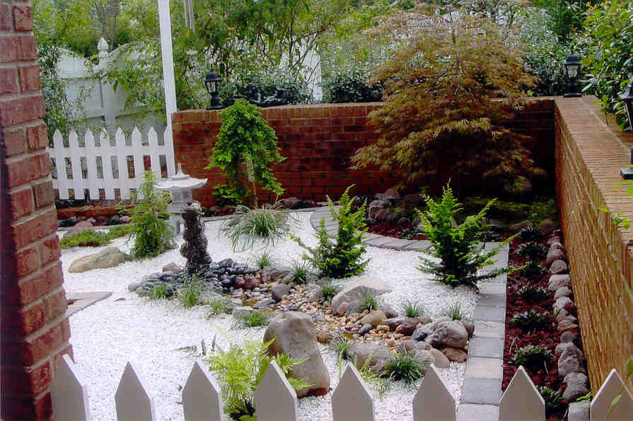 Small Japanese Garden Design TGwR