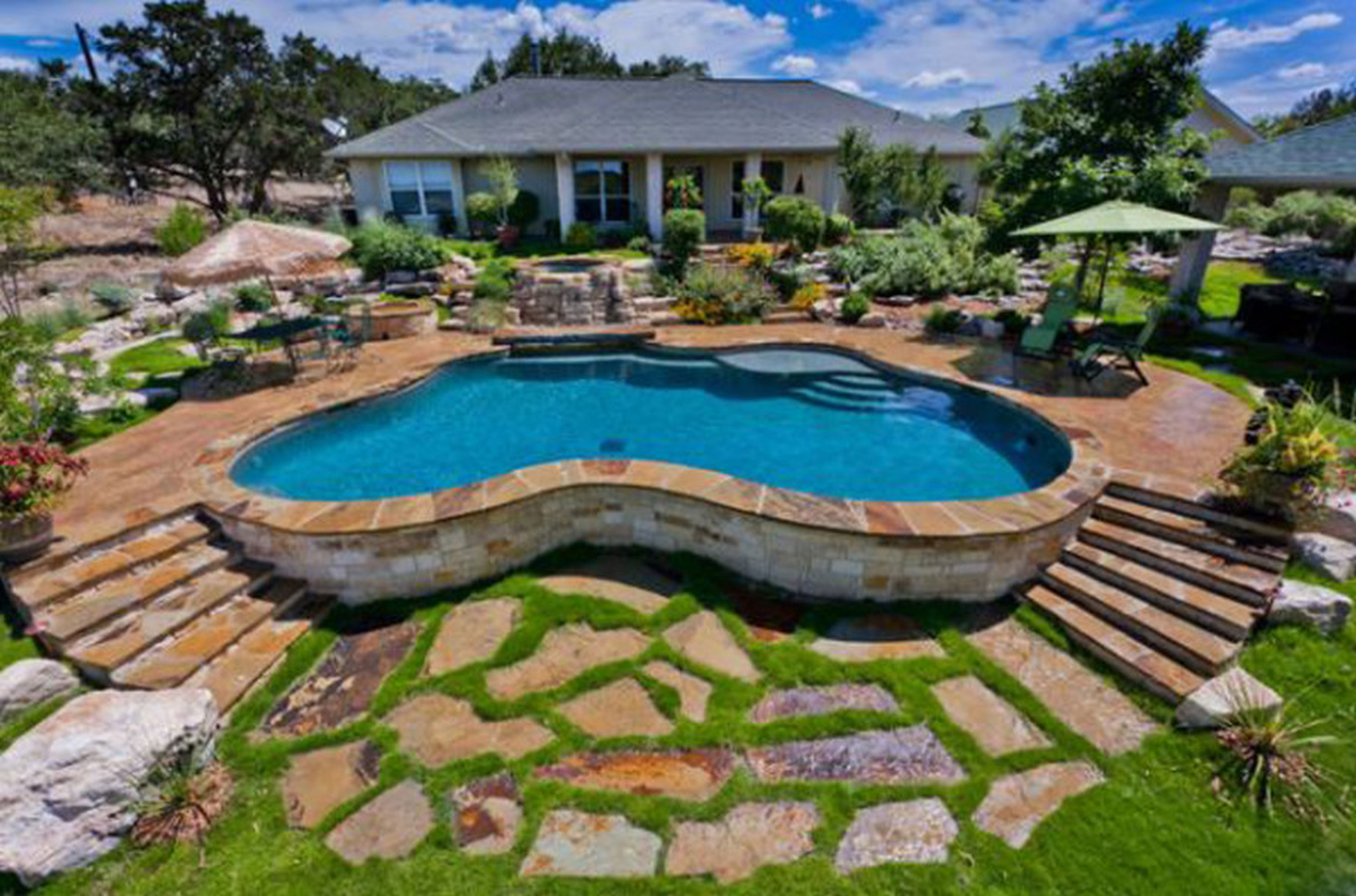 swimming-spa-pools-iuYL - Design On Vine on small garden spa, backyard spa, outdoor swimming pool with spa,