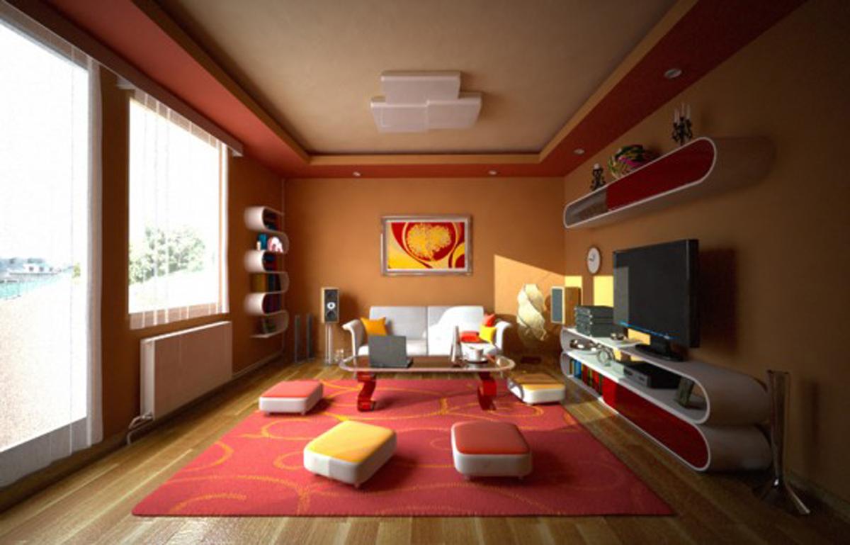 warm-paint-colors-for-living-room-CcFh - Design On Vine