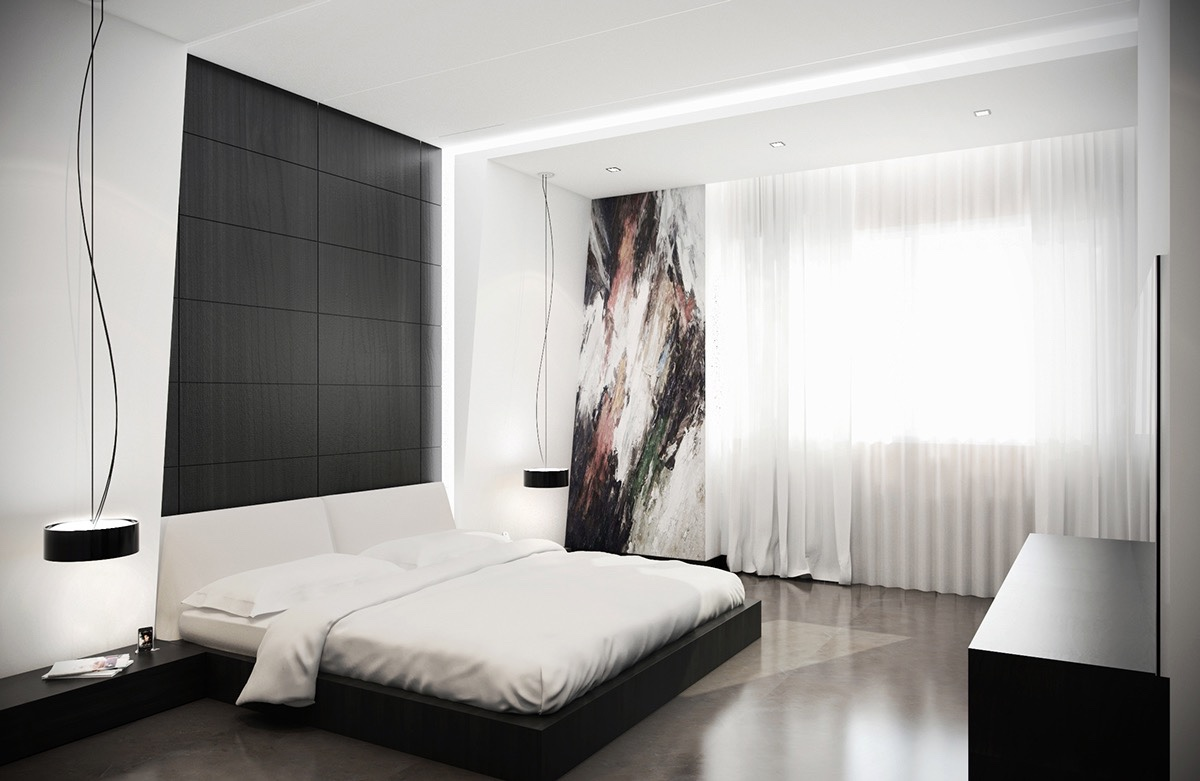 Tremendous White Bedroom Concept With Small Touch Of Black Design On Vine Download Free Architecture Designs Scobabritishbridgeorg